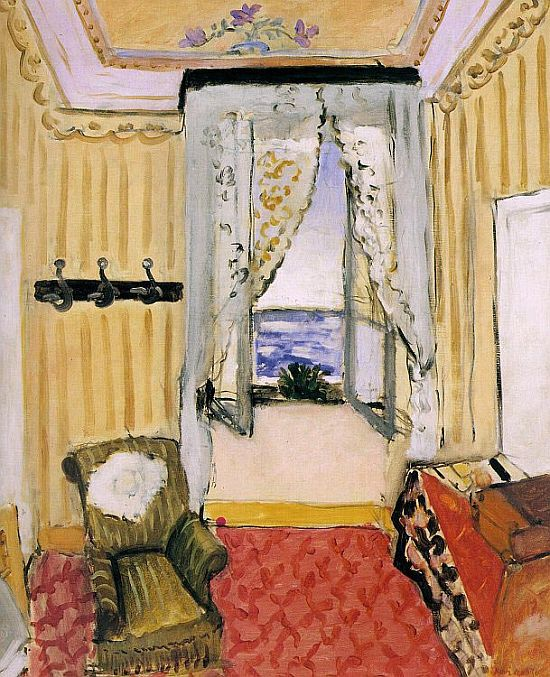 Henri Matisse: Interior at Nice (Room at the Beau Rivage), 1917–1918